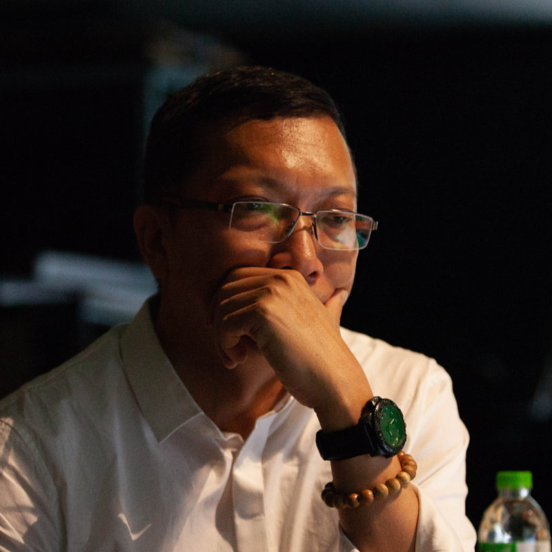 Master Sheng Yen movie director Chang Chao Wei - THIS Buddhist Film Festival