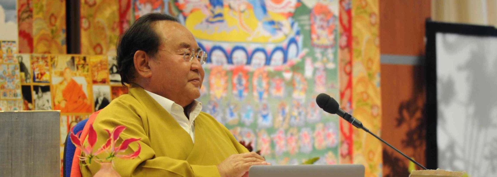 Sogyal Rinpoche giving Dharma talk - Guru in Disgrace - THIS Buddhist Film Festival