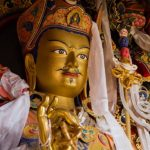 Padmasambhava Buddha Statue in Karana mudra - Precious Guru - THIS Buddhist Film Festival