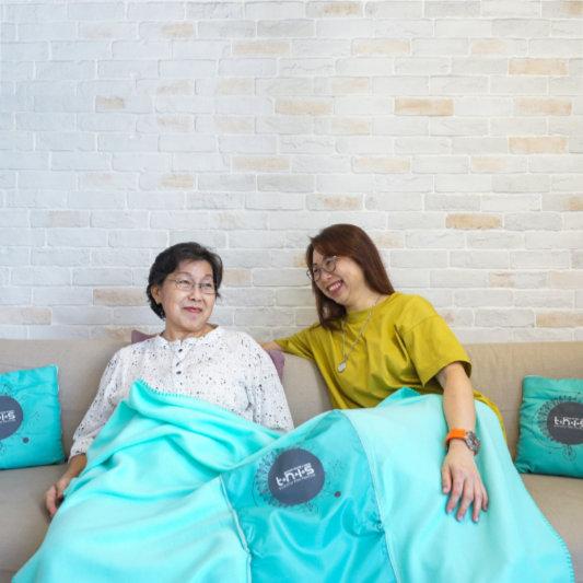 Foldable Blanket Pillow