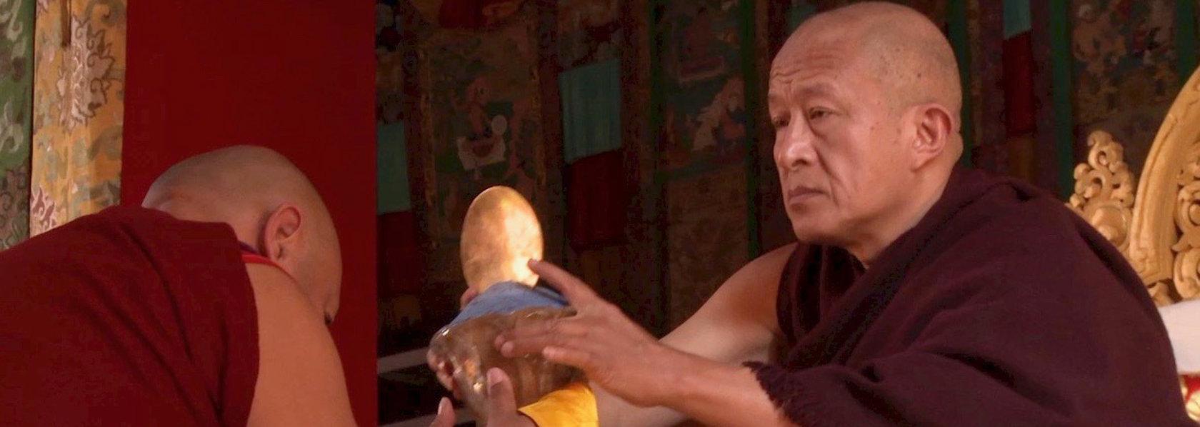 Dzongsar Khyentse Rinpoche performing ritual - Visions of a Teacher - THIS Buddhist Film Festival